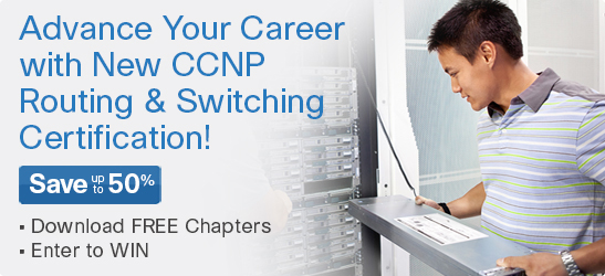Save 40% on CCNP 642 Series titles from Cisco Press
