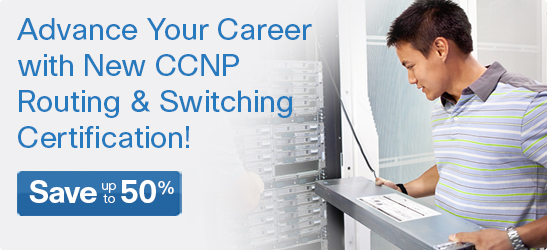 Save up to 50% on CCNP 300 Series Titles from Cisco Press