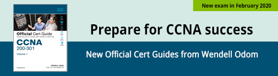 CCNA Official Cert Guide, Volume 1 from Wendell Odom