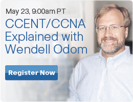 Webinar: Wendell Odom on the New CCENT/CCNA from Cisco Learning Network