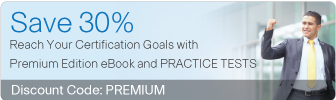 Save 30% on Premium Edition eBook and Practice Tests