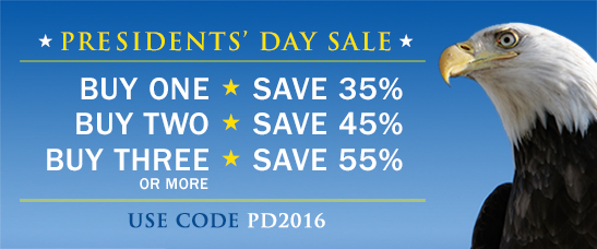 Save up to 55% in the Presidents' Day Sale from Cisco Press