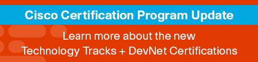 Learn about the new technology tracks 