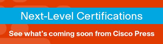 New Cisco Certification Program Announcement