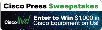 Facebook Sweepstakes from Cisco Press