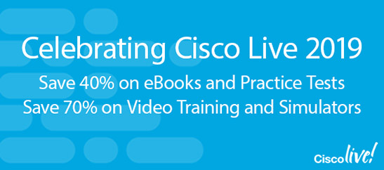 Save 40%-70% on digital learning from Cisco Press