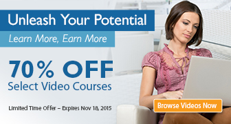 Save 50%-70% on Videos from Pearson IT Certification