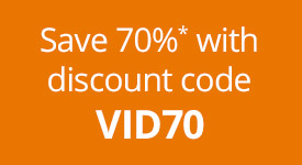 Save 70% on eligible video titles from Pearson IT Certification