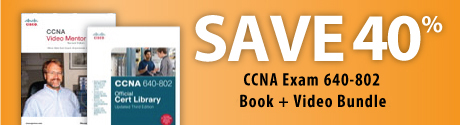 CCNA Exam 640-802 Book + Video Bundle