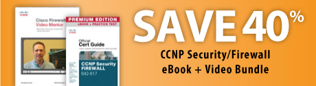 CCNP Security/Firewall eBook + Video Bundle