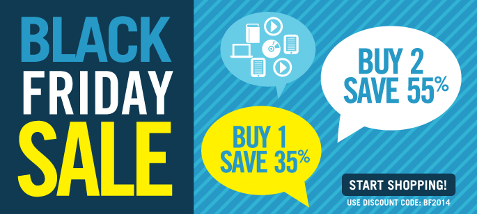 Black Friday Sale: Buy 1, Save 35% or Buy 2, Save 55%