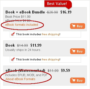 eBook purchase options
