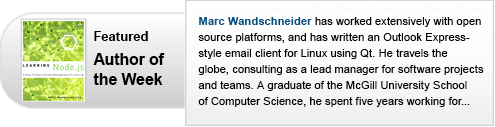 Featured Author of the Week: Marc Wandschneider