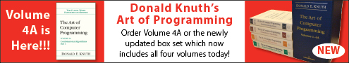 Save 35% on New Knuth Books