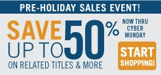 Save on Books, eBooks, & Video Tutorials with our Black Friday/Cyber Monday Deals.