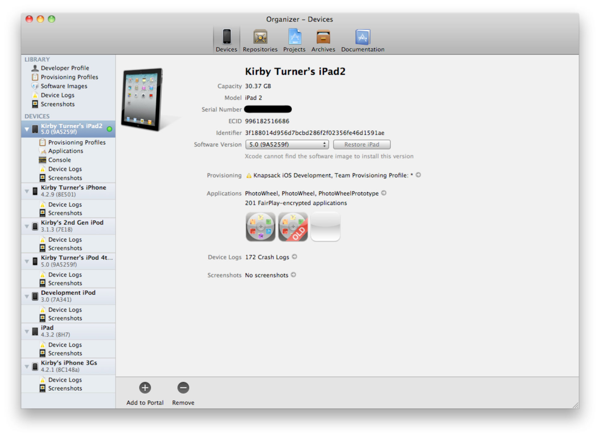Setting Up Your Device | Learning iPad Programming: Provisioning
