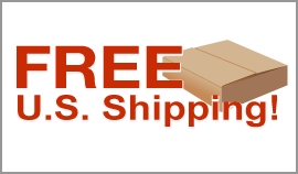 Free U.S. Shipping