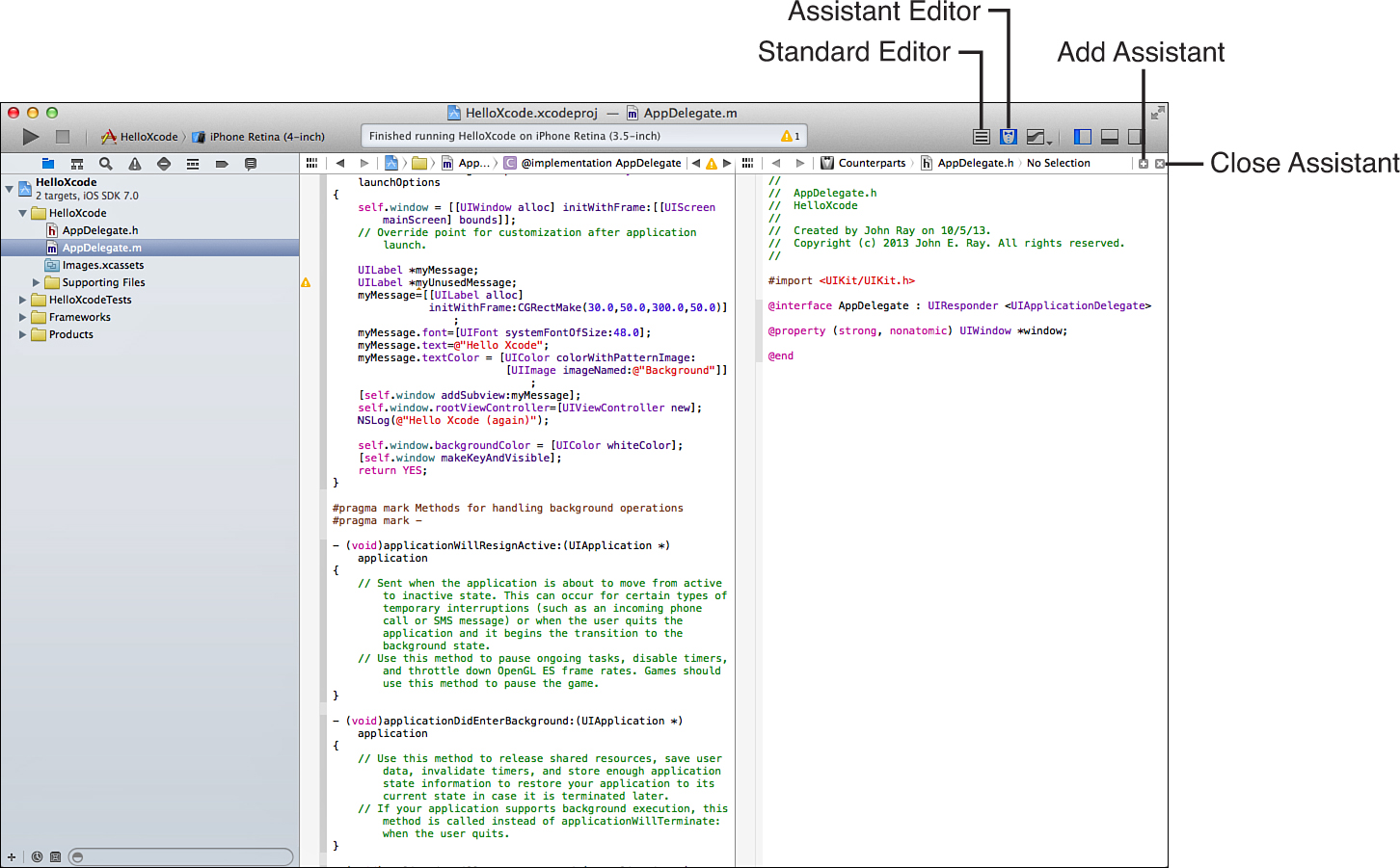 Hour 2  Introduction to Xcode and the iOS Simulator
