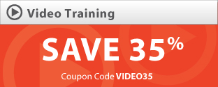 Save 35% on Video LiveLessons with coupon VIDEO35