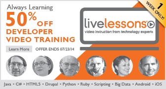 Save 50% on Video tutorials