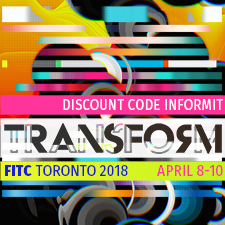 FITC Toronto 2018 - April 8-10 - use discount code INFORMIT