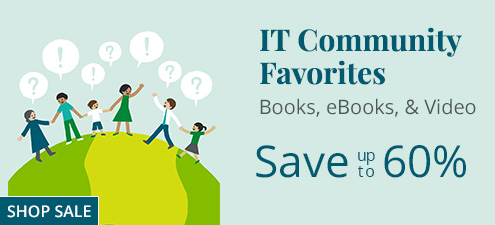 Save up to 60% in the Best Of Sale from InformIT