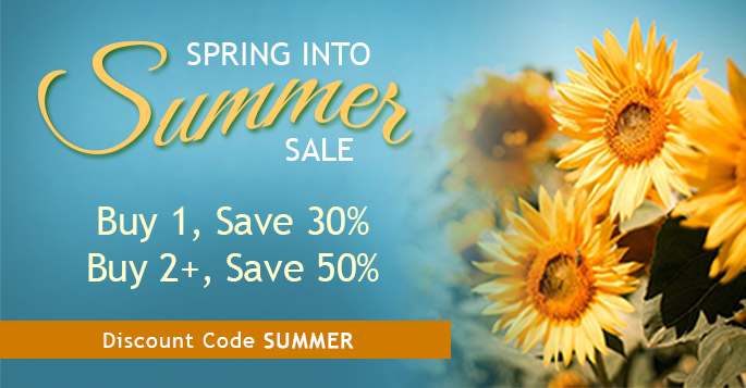 Save up to 50% in the Spring into Summer Sale from Peachpit