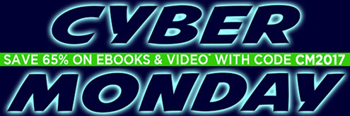 Save 65% on eBooks and Video in the Cyber Monday Sale from InformIT