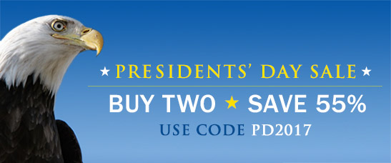 Monumental Savings! Buy 2, Save 55% in the Presidents' Day Sale from Cisco Press