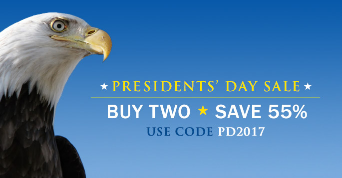 Buy 2, Save 55% in the Presidents' Day Sale from Peachpit