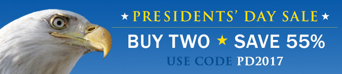 Buy 2, save 55% in the Presidents' Day Sale from Adobe Press