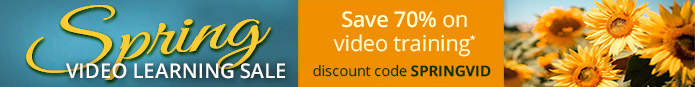 Save 70% on video training in the Spring Video Learning Sale from Pearson IT Certification