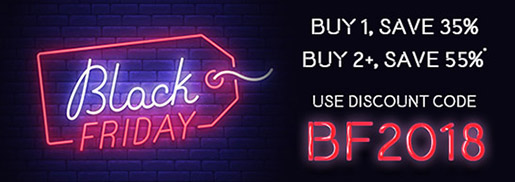 Buy 1, Save 35% / Buy 2+, Save 55% in the Black Friday Sale from InformIT