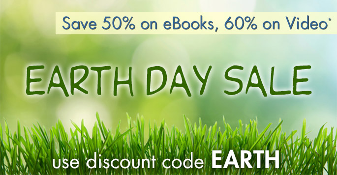 Save 50% on eBooks, 60% on Video% in the Earth Day Sale from Adobe Press