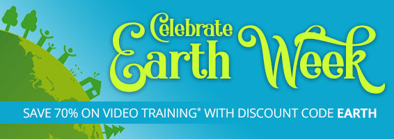 Save 70% on video and simulators in the Earth Week Sale from Pearson IT Certification