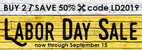 Buy 2, Save 50%* in the Labor Day Sale from InformIT