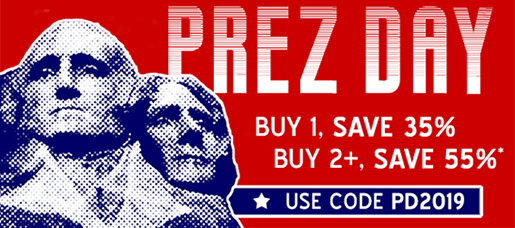 Buy 1, Save 35% / Buy 2+, Save 55% in the Presidents' Day Sale from InformIT