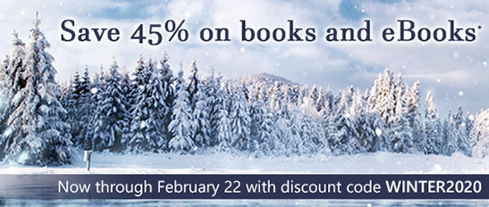 Now through February 22, save 45% on books and eBooks* with discount code WINTER2020 in the Winter Sale from InformIT