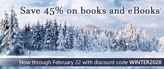 Now through February 22, save 45% on books and eBooks* with discount code WINTER2020 in the Winter Sale from Pearson IT Certification