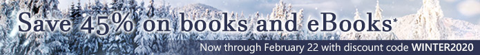 Now through February 22, save 45% on books and eBooks* in the Winter Sale from Pearson IT Certification
