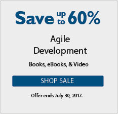 Save up to 60% in the Agile Sale from InformIT