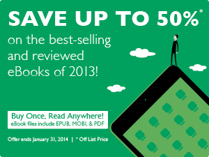 Save 50% on Best of 2013 eBooks