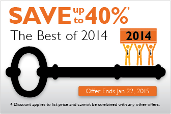 Best of 2014: Save 40%