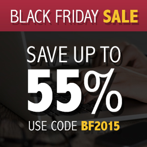 Black Friday Sale: Save up to 55%
