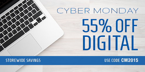 Cyber Monday Sale: Save 55% on digital products