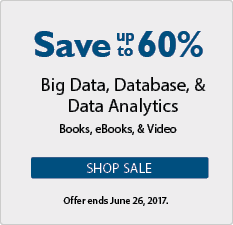 Save up to 60% in the Data Analytics and Database Sale from InformIT