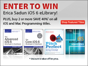 Enter to win an Erica Sadun iOS 6 eLibrary