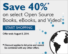 Save 40% on Open Source titles