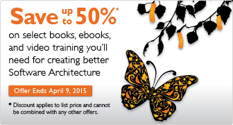 Software Architecture Sale: Save up tp 50%
