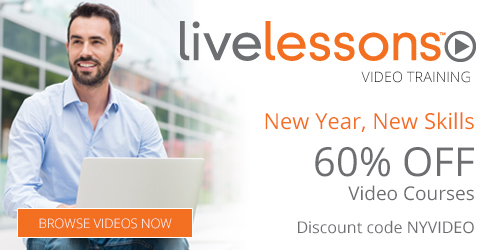 Save 60% in the Video Sale from InformIT